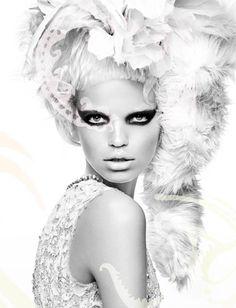 Numéro #124    Editorial: Wild  Photographer: Greg Kadel  Stylist: Bill Mullen  Models: Daphne Groeneveld