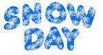 #Snow Day word art banner, ClipArtandCrafts.com