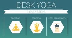 De-stress at your desk with desk yoga