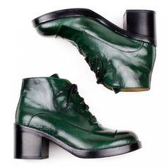 Officine Creative Bettye 007 Lace-up Kilt Boot for Women - re-souL