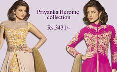 Bollywood Actress Priyanka chopara collection . #priyankachopra #salwarsuit #designersalwarsuit