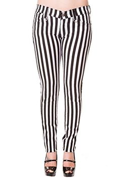 Banned Goth Steampunk Black White Striped Skinny Pants (26 (XS)) Banned Apparel http://www.amazon.com/dp/B01D5AX9RC/ref=cm_sw_r_pi_dp_YsE.wb08K31PS