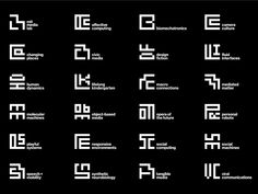 the new MIT Media Lab identity by pentagram's michael bierut and aron fay features an ML monogram and 23 sub-logos based on a grid. Corporate Design, Business Design, Corporate Identity, Identity Design, Visual Identity, Brand Identity, Design Agency, Michael Bierut, Dynamic Logo