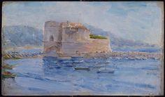 """""""Fort Saint-Louis et port (Toulon)"""" de Maurice Ramart (1864-1922). Lille, Palais des Beaux-Arts - Photo (C) RMN-Grand Palais / René-Gabriel Ojéda / Thierry Le Mage"""