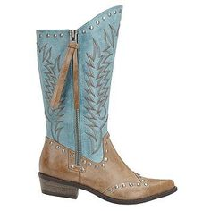 Coconuts Women's Winchester Cowboy Boot at Famous Footwear