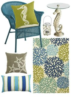 Outdoor Beach Decor Pier 1: http://beachblissliving.com/outdoor-decor-for-a-beach-style-patio-and-porch/