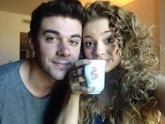 Carrie Hope Fletcher and Pete Bucknall. Accidental OTP