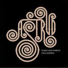 """CvA184. Astrud - """"Todo nos parece una mierda"""" by Salvador Alimbau 2006 / Sinnamon Records / #Albumcover"""