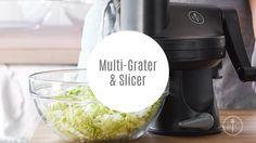 Multi-Grater & Slicer | Pampered Chef - YouTube