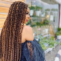 Twist Braid Hairstyles, Crochet Braids Hairstyles, Braided Hairstyles For Black Women, Braids For Black Hair, Twist Braids, Girl Hairstyles, Curly Hair Styles, Natural Hair Styles, Dreads