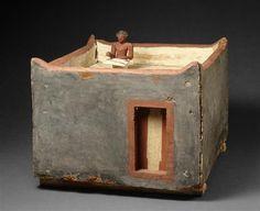 Grenier égyptien, il y a 4000 ans env.