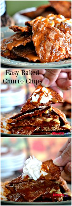 Try this Easy Baked Churro Chips recipe, possibly the easiest and yummiest churro chips you can ever make! Most Delicious Recipe, Delicious Desserts, Yummy Food, Delicious Dishes, Fall Recipes, Mexican Food Recipes, Dessert Recipes, Lunch Recipes, Churro Chips