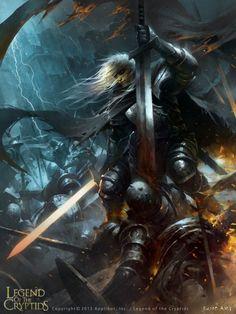 As incríveis ilustrações de fantasia para games de Wenjun Lin