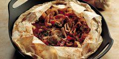 Per la ricetta del cartoccio di mare, eviscerate tutti i molluschi, privandoli anche di becco e occhi. Staccate i ciuffetti di tentacoli dai corpi e ... Tacos, Mexican, Ethnic Recipes, Food, Essen, Meals, Yemek, Mexicans, Eten