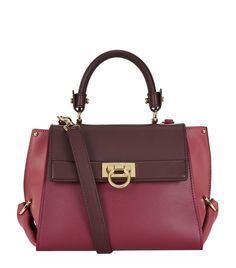 Salvatore Ferragamo Small Sofia Colour-Block Tote | Harrods