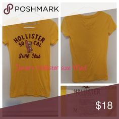 Hollister shirt size medium Like new Tops Tees - Short Sleeve