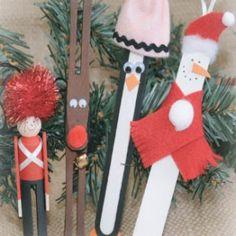 Easy Christmas craft for kids.