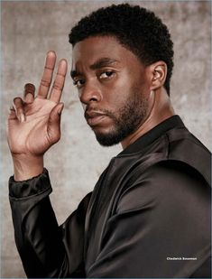 Dennis Leupold photographs Chadwick Boseman for Essence magazine. Black Panther Marvel, Black Panther 2018, Film Black, Black Actors, Movie Black, Black Love, Black Is Beautiful, Black Men, Cate Blanchett
