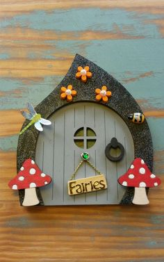 FAIRY DOOR PERFECT FOR ANY OCCASION Tooth Fairy Elf Pixie Door in Collectables, Fantasy/ Myth/ Magic, Mythical Creatures | eBay