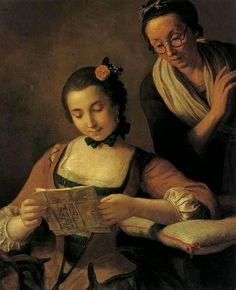 Pietro Antonio Rotari - The Readers