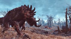 Whoever made the deathclaw animations deserves a raise #Fallout4 #gaming #Fallout #Bethesda #games #PS4share #PS4 #FO4