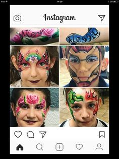 Boys Like, Carnival, Face, Painting, Instagram, Painting Art, Paintings, Faces, Painted Canvas