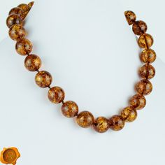 Large Cognac Baltic Amber Beads Exclusive Necklace for Women Adult Beads Cognac Amber Jewelry Massive Amber Beads Baltic Jewellery by PreciousAmber on Etsy Amber Beads, Amber Jewelry, Baltic Amber Necklace, Precious Metals, I Am Awesome, Beaded Necklace, Feminine, Jewellery, Etsy