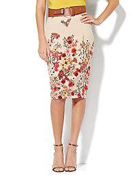 7th-avenue-design-studio-floral-pencil-skirt-