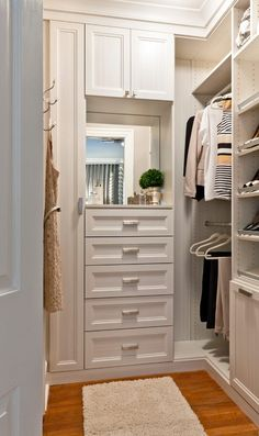 343 Best Small Walk In Closet Ideas Images Walk In Closet