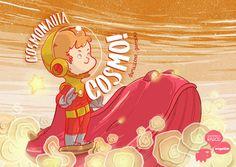 """""""Cosmonauta Cosmo"""" conta a história de um garoto que queria ter um bicho de estimação, vontade que esbarrava no fato de seu condomínio não permitir animais."""