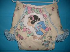 Diaper Disney Snow White AB/DL Clothe Nappy Pants Large AdulT #Handmade