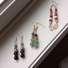Free: ONE Pair of Gemstone or Czech Glass Earrings YOUR CHOICE or GIN for Two Pairs!!! - Earrings - Listia.com Auctions for Free Stuff