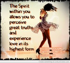 The Spirit within!