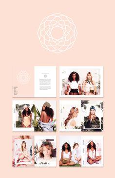 The Trend Setter Handmade headwear: turbans, headbands, scrunchies, beanies and scarfs. ECHEVERIA//SS15 summer lookbook layout and logo.