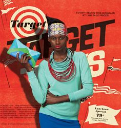 Target window graphics   Art direction by Allan Peters