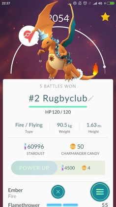Charizard has collected some trophies from his gym battles... [humor]