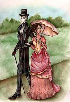 "This is was Erik always wanted. ""I want to  have a nice, quiet flat, with ordinary doors and windows and a wife  inside it, like anybody else! A wife whom I could love and take  out on Sundays and keep amused on week-days..."" Gaston Leroux's Phantom of the Opera"