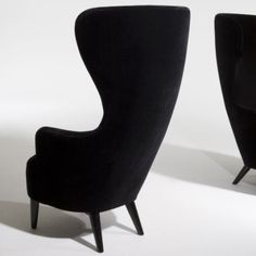 Wingback Chair by Tom Dixon My Living Room, Living Room Chairs, Dining Chairs, Desk Chairs, Dining Room, Office Chairs, Tom Dixon, Egg Chair, Wingback Chair