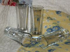 Vintage Shot Glasses Set of 4 from the by HistoryHouseAntiques