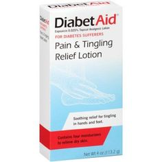 DiabetAid Pain & Tingling Relief Lotion, 4 oz