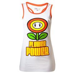 #nintendo #flower #power #tshirt #nes #mario #nintendo