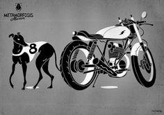 Interior Design & 2 Wheels. Metamorfosis Masiva by Raulowsky.