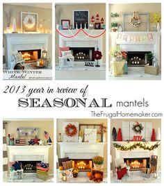 2013 year in review of Seasonal Mantels