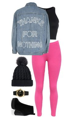 """Untitled #1817"" by cassidy-krystine on Polyvore featuring Onzie, Rolex, WithChic, River Island and New Look"