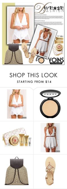 """Yoins13"" by angel-a-m ❤ liked on Polyvore featuring LORAC, Elizabeth Arden, Jack Rogers and yoins"