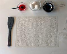 Flower Texture Square stencil for cake decoration. by PELECUT, $16.00