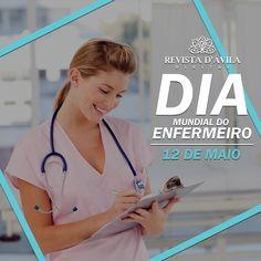 Obrigado aos profissionais da área por se dedicarem todos os dias a esta maravilhosa função! 12/05 Dia do Enfermeiro