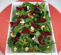 Rose Reisman shares her recipe for baby kale salad. Baby Food Recipes, Vegan Recipes, Goat Cheese Salad, Kale Salad, Vegan Food, Salads, Magazine, Chicken, Rose