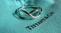 infinity ring Tiffany