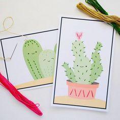 Kids Printable Stitch Cards – Needle Work